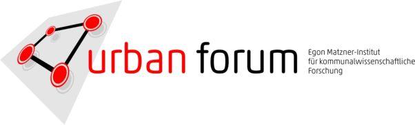 URBAN FORUM - Egon Matzner-Institut für kommunalwissenschaftliche Forschung